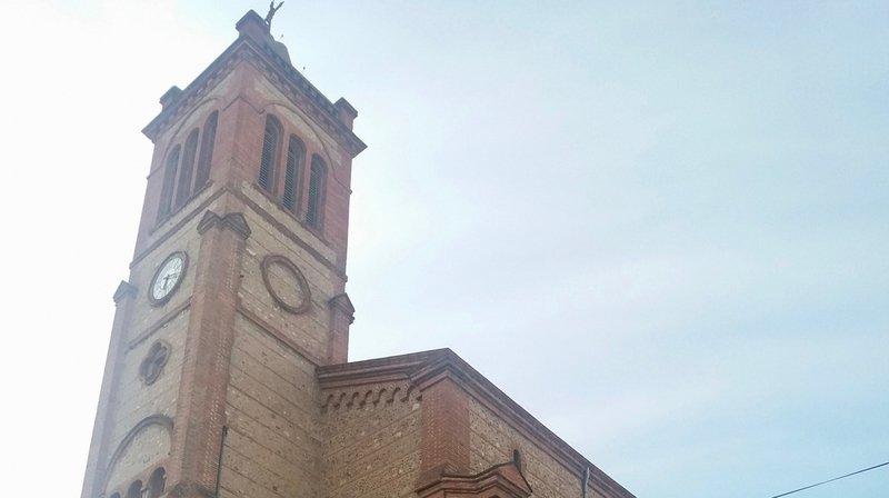 L'église de la paroisse Saint-Joseph de Perpignan, où le prêtre valaisan officiait.