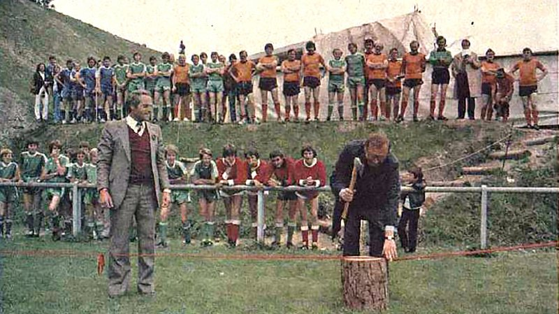 100 ans de l'AVF: le FC Chermignon plus fort que la politique [10/53]