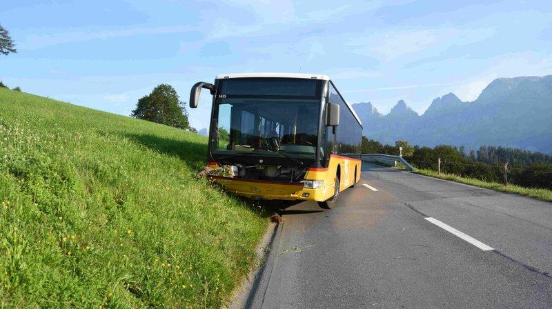 Saint-Gall: un chauffeur de CarPostal décède pendant un trajet, aucun passager blessé