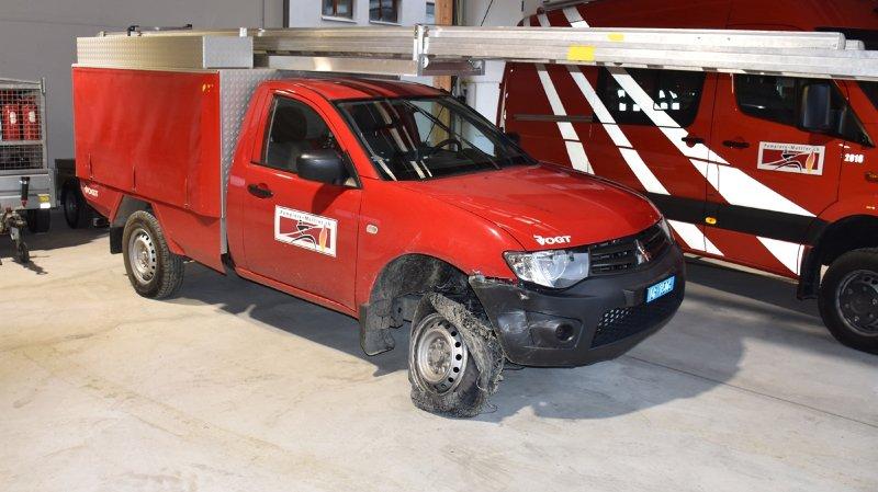 Grisons: ils volent un véhicule de pompiers pour faire une virée