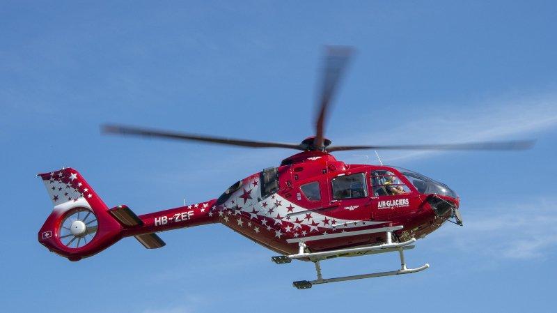 Les secouristes sont intervenus par hélicoptère, mais ils n'ont rien pu faire.