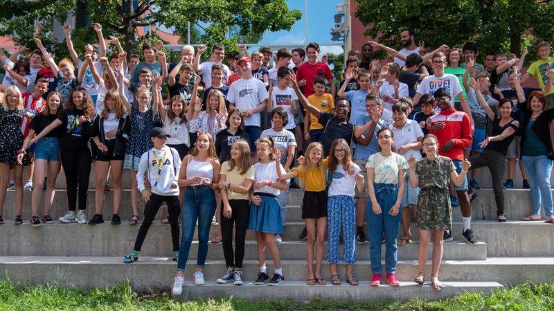 160 jeunes Valaisans ont participé au camp d'été informatique de la HES-SO Valais-Wallis.
