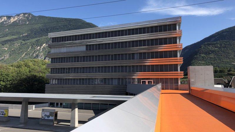 Sierre: le bâtiment de la nouvelle école de commerce et de culture générale est prêt pour la rentrée