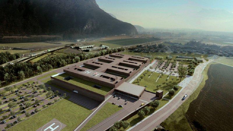 Des tensions sur le site du futur Hôpital Riviera-Chablais à Rennaz