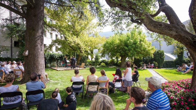 Le Jardin de la Préfecture, un des coins cachés qu'investit le Sion festival pour son marathon samedi.