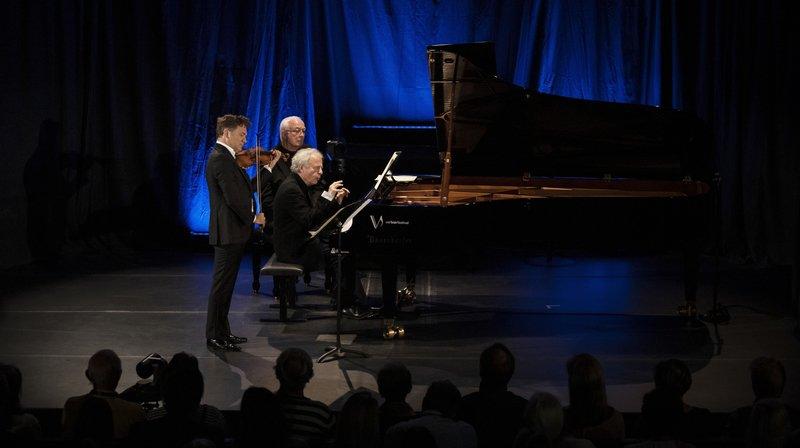 Dimanche dernier, le concert de Renaud Capuçon et Andras Schiff a affiché complet.