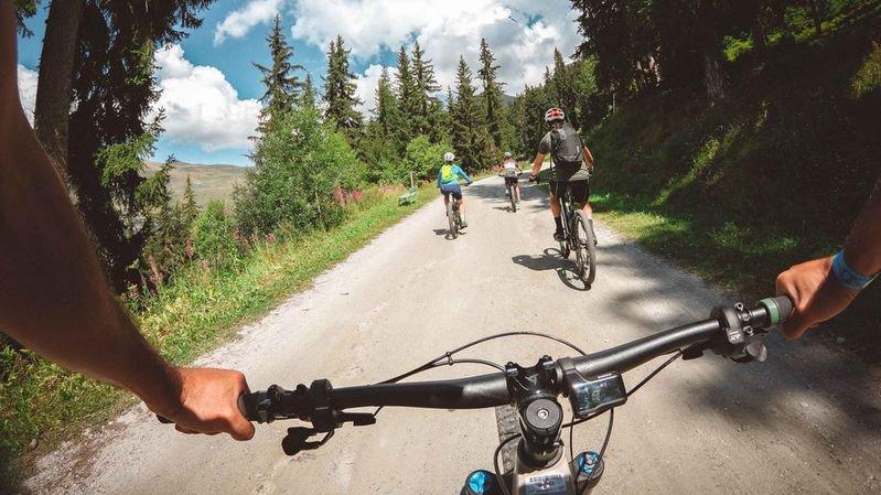 Les participants au premier E-bike Festival de Verbier pourront découvrir les magnifiques paysages du val de Bagnes.
