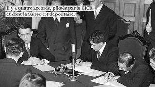 Prisonniers et blessés de guerre: les Conventions de Genève ont 70 ans