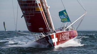 Traversée de l'Atlantique nord à la voile: le Genevois Alan Roura va probablement battre le record
