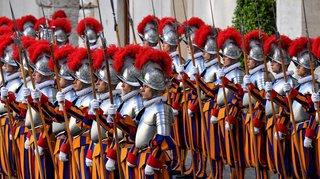Fête des vignerons: la Garde suisse pontificale invitée d'honneur le 1er août