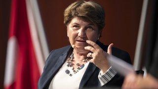 Fête nationale: Viola Amherd défend l'achat d'un nouvel avion de combat pour la population