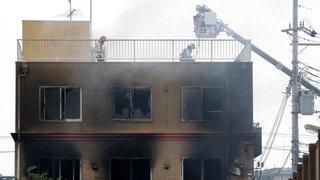 Japon: incendie dans un studio d'animation de Kyoto, treize morts