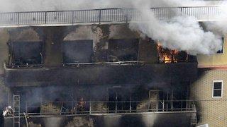 Japon: incendie dans un studio d'animation de Kyoto, le bilan s'alourdit à 33 morts