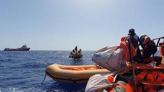Méditerranée: l'Ocean Viking a secouru 85 migrants au large de la Libye