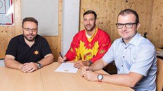 Goran Bezina patinera bel et bien avec le HC Sierre