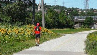 Course à pied: à bout de forces, David Fournier est contraint d'abandonner