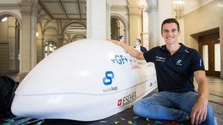 L'athlète pionnier de Swissloop