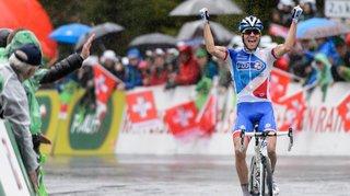 Cyclisme: sur les traces de Thibaut Pinot à Champex