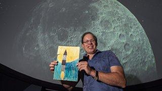 50 ans de l'homme sur la Lune: un moment à jamais imprimé dans l'âme d'Alain Kohler, fondateur de la Société d'Astronomie du Valais romand