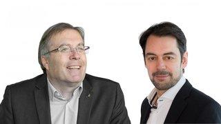 Quand la SSR évoque le Haut et le Valais romand: interview croisée de Jean-Michel Cina et Pascal Crittin
