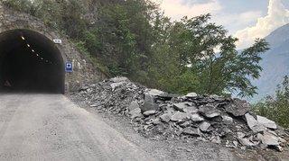Route rouverte entre Riddes et Isérables