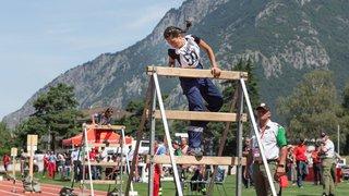 Championnat du monde des jeunes sapeurs pompiers à Martigny
