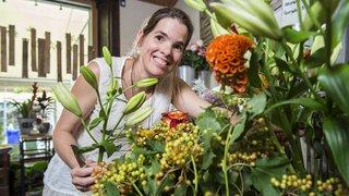 La fleuriste valaisanne Nicole Staub se prépare à l'examen de sa vie en Autriche