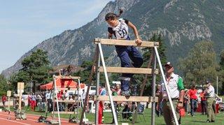 Martigny: les jeunes sapeurs-pompiers Valaisans assurent le spectacle