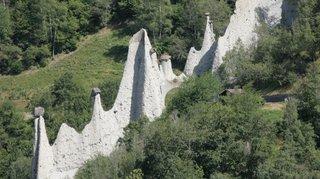 Hérémence: le projet de valorisation des pyramides d'Euseigne dévoilé