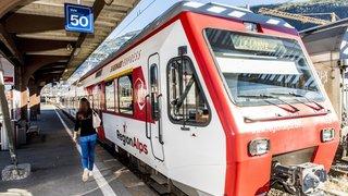 RegionAlps exploitera des liaisons Monthey-Lausanne dès la fin de l'année