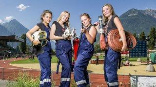 Martigny: la relève des pompiers se décline au féminin