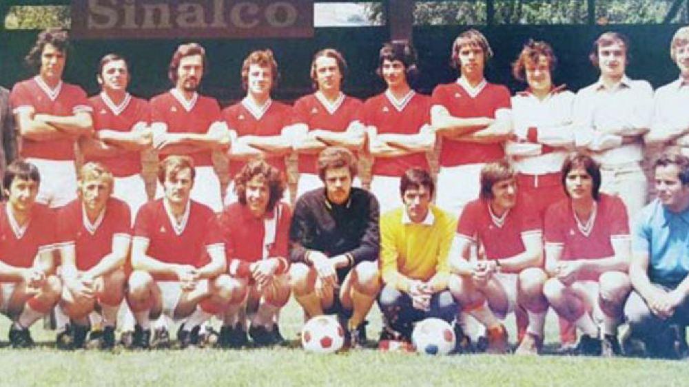 Le FC Sierre version 1972-1973.