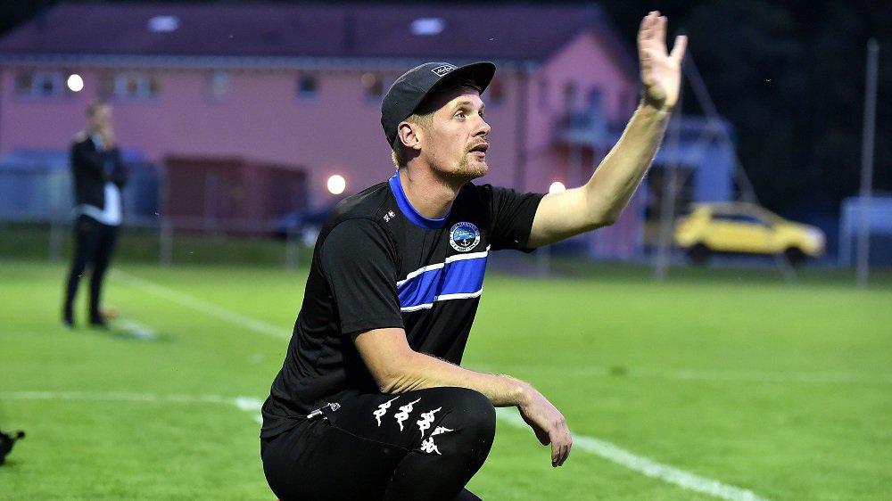 Depuis cet été, Jean-Charles Dubois est le nouveau coach de Port-Valais.