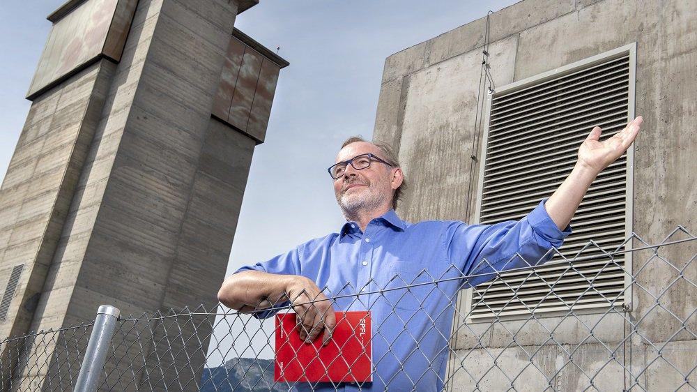 Marc-André Berclaz, directeur opérationnel de l'EPFL Valais, tire un bilan positif des cinq premières années de fonctionnement de l'institut académique à Sion.