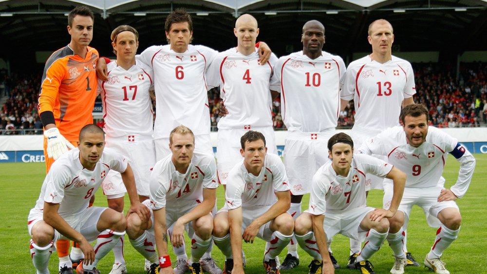 La dernière apparition de la Nati à Sion remonte à 2010. Stéphane Grichting (numéro 13) avait enfilé un maillot de titulaire lors de la défaite 0-1 devant le Costa Rica.