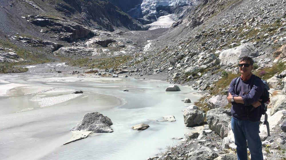 «J'étais venu  ici pour  les glaciers»