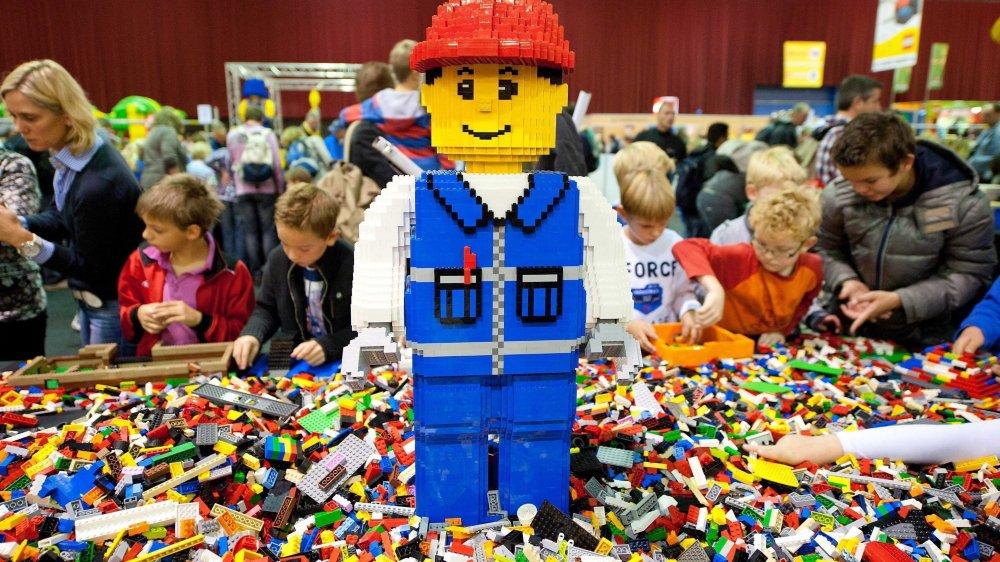 Les magasins Lego se multiplient