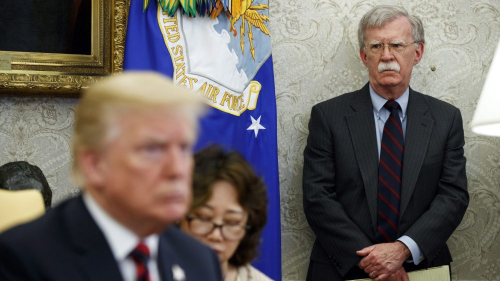 Trump limoge Bolton