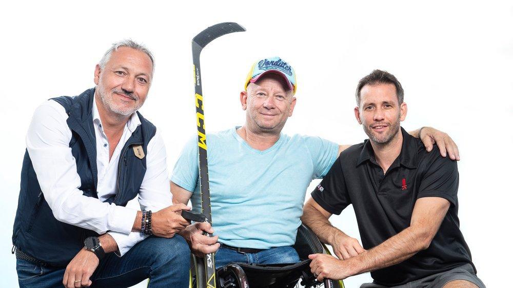 Alain Darbellay, Gérald Métroz et Benoît Pont ont débattu durant près de deux heures de différents thèmes liés au hockey valaisan.