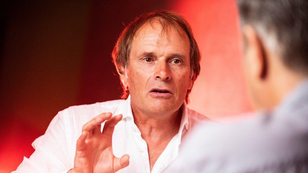 Alain Geiger se sent investi d'une nouvelle responsabilité envers le football valaisan. Il entend s'y impliquer davantage quand il rentrera en Valais.