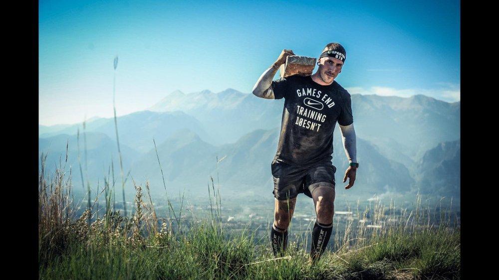 Kevin Morgagni a pour habitude de participer à des Spartan Race dans toute l'Europe. Samedi, il pourra enfin concourir à domicile.
