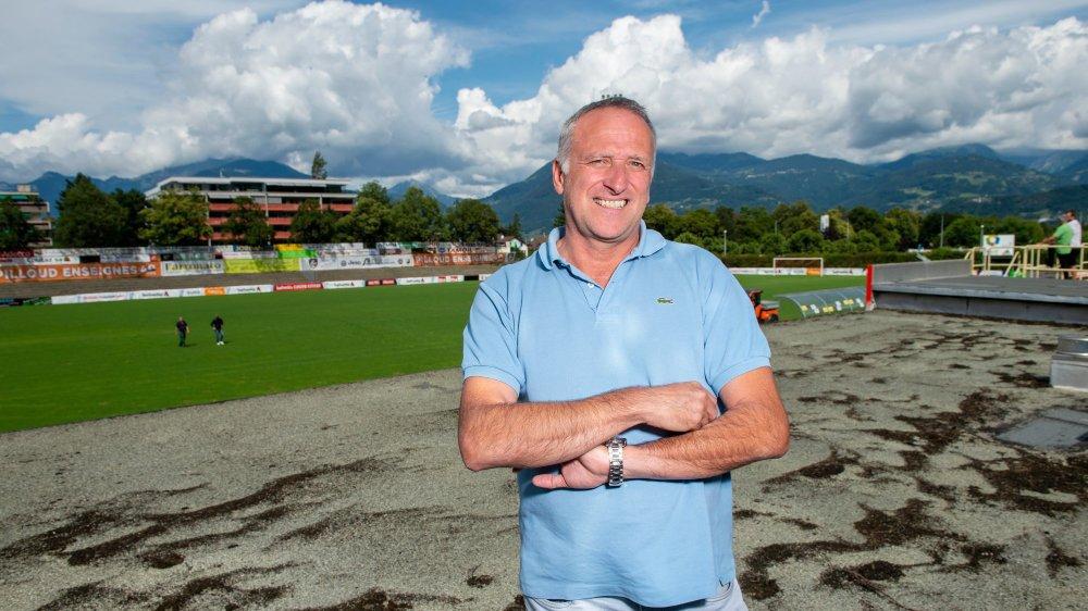 Dominique Farronato espère ne pas devoir attendre treize ans, de nouveau, pour accueillir une équipe de Super League à Monthey.