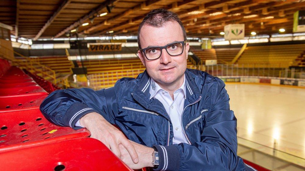 Alain Bonnet est peut-être la bonne étoile du HCSierre avec ses cinq promotions, trois en tant que joueur, deux en qualité de président.