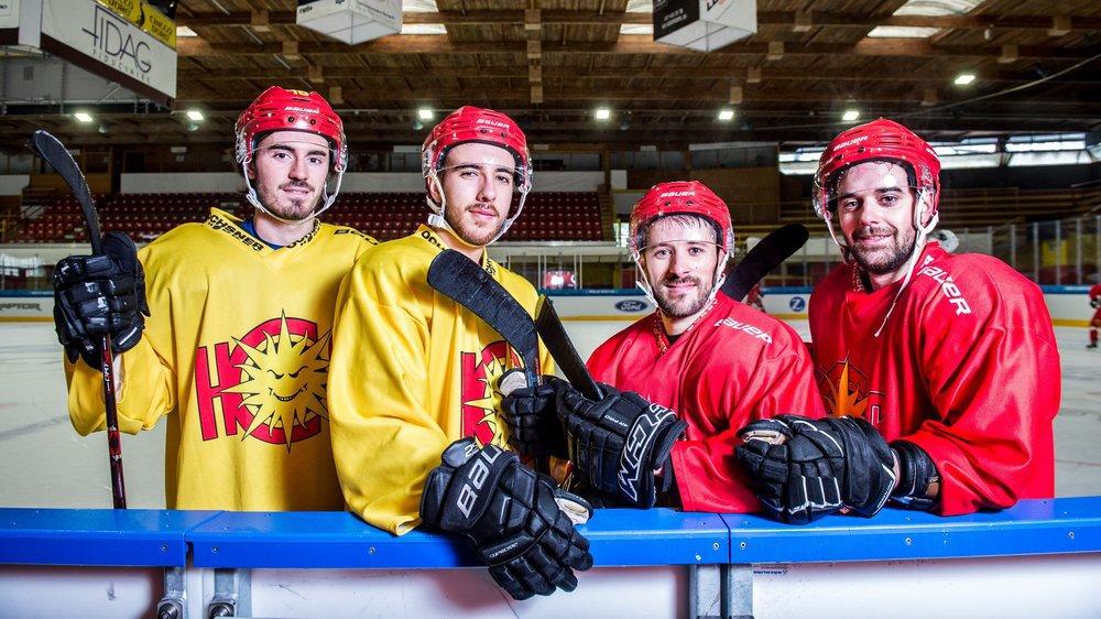 Loïc Vouardoux, Bryan Abreu, Rémy Rimann et Nicolas Dozin ont tous un rapport sportif et affectif avec Lausanne.