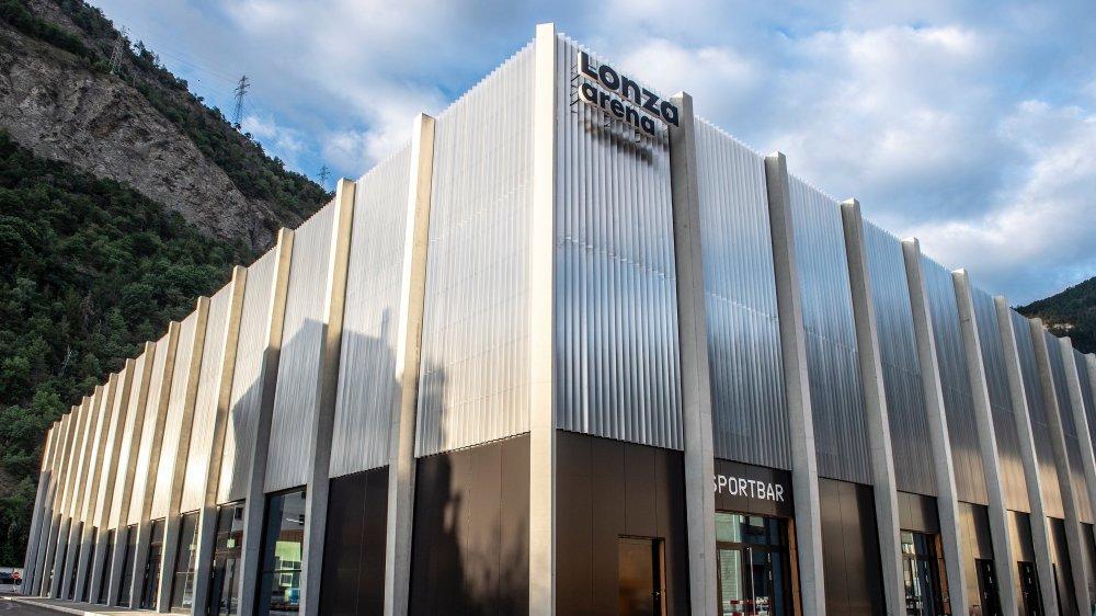 La Lonza Arena sera inaugurée officiellement vendredi. Elle accueillera ses premiers matchs amicaux entre vendredi et dimanche.