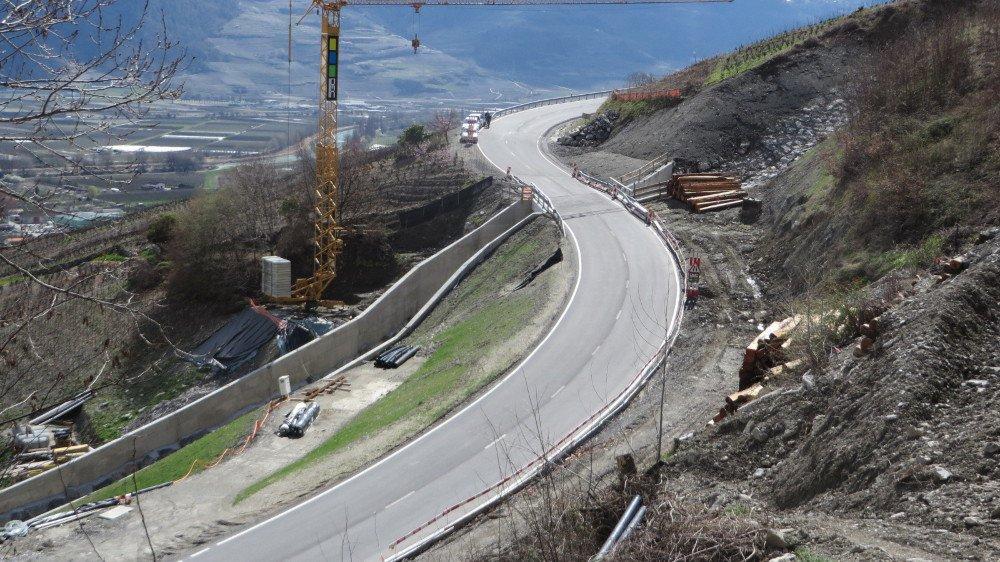 A l'exemple du secteur des Afforêts, d'importants travaux routiers d'ordre sécuritaire ont été réalisés depuis 2005 sur la route reliant Leytron à Ovronnaz.