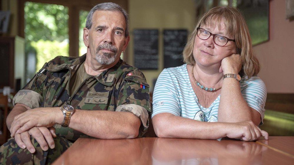 Daniel Panchaud, de Dorénaz, et Catherine Ruppen, de Grimisuat, vivent tous les deux avec une aphasie.