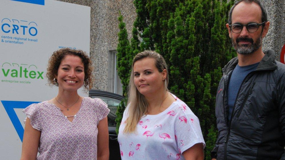 Magdalena Laurencet, Carole Bregnard et Raphaël Crittin sont prêts à relever les nouveaux défis du CRTO.