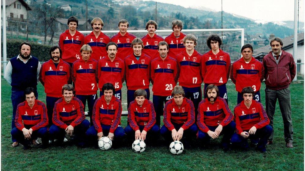 En 1983, le FC Savièse a cueilli la promotion le jour du 25e anniversaire du club.