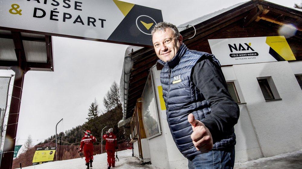 Chiffre d'affaires record pour Télé Mont-Noble et son président Fred Pont.